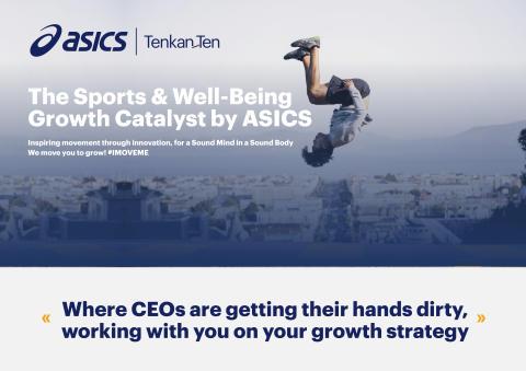 ASICS TENKAN-TEN Growth Catalyst