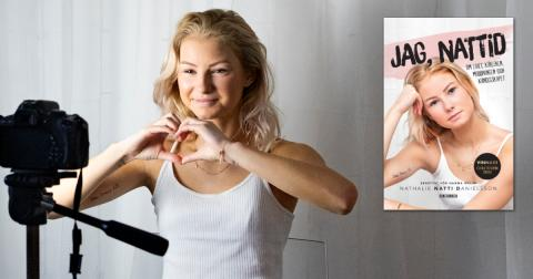 """Influencern Nathalie """"Nattid"""" Danielssons självbiografi är här"""