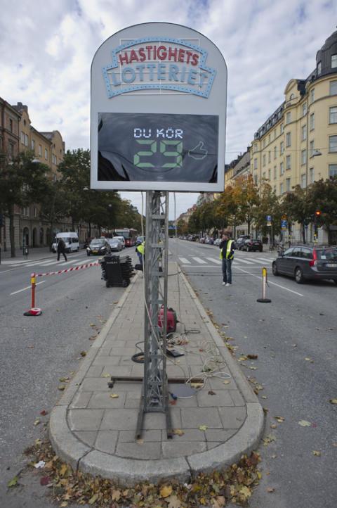 Unikt trafiksäkerhetsprojekt testas i Stockholm