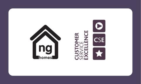 ng homes awarded Customer Service Excellence Standard