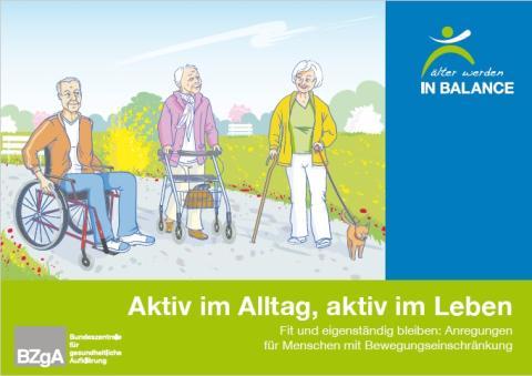 Tag der älteren Menschen am 1. Oktober: Bewegungstipps für mehr Gesundheit und Lebensfreude