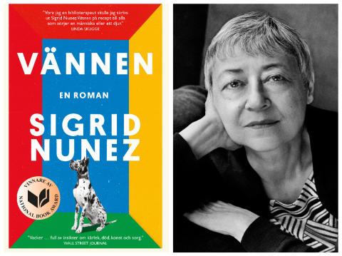 """HarperCollins ger ut prisbelönta romanen """"Vännen"""" av hyllade Sigrid Nunez – som nu för första gången översätts till svenska!"""