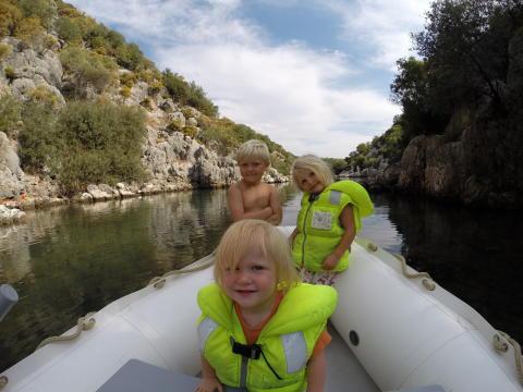 Lapset seikkailevat Turkissa