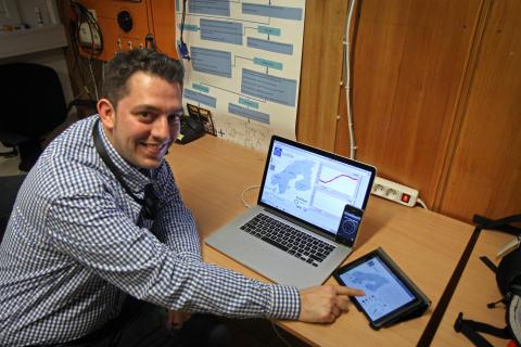 Luigi Vanfretti, universitetslektor vid avdelningen för elektriska energisystem vid KTH.