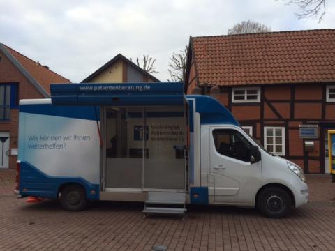 Beratungsmobil der Unabhängigen Patientenberatung kommt am 29. März nach Nienburg