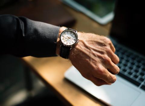 Klocka din marknadsföring