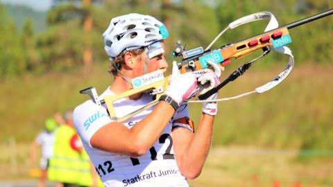 NM rulleskiskyting 2015 Jaktstart Lars Helge Birkeland