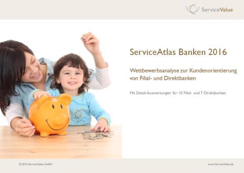 Filial- und Direktbanken auf dem Kundenprüfstand