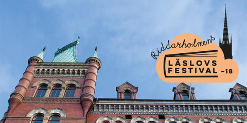 Riddarholmens Läslovsfestival 2018