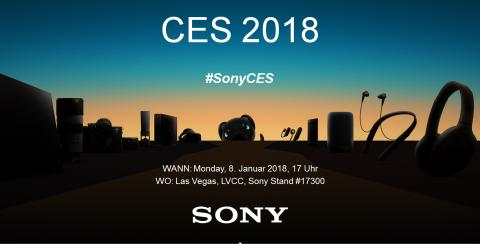 Sony Pressekonferenz @ CES 2018