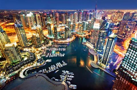 Populärt att fira jul i Dubai