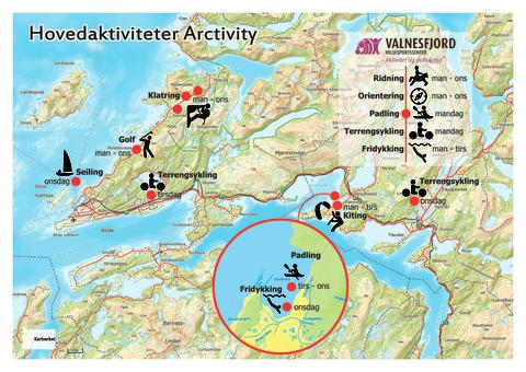Kart over Salten Arctivity