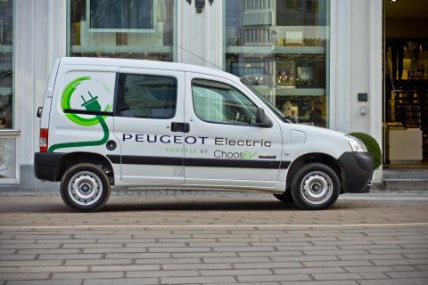 Partner Van Electric - Peugeot sætter strøm til den lille varebilsklasse