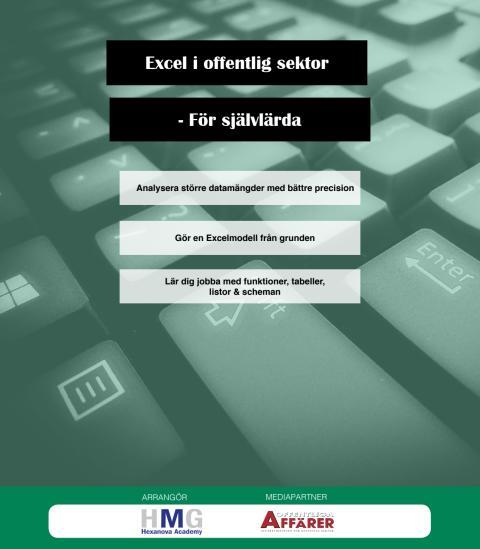 Bli expert på Excel!