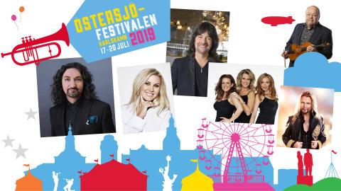 Bredd på artistutbudet under Östersjöfestivalen