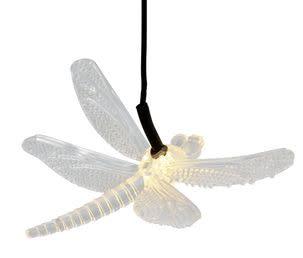 Roikkuva aurinkokennovalaisin sudenkorento
