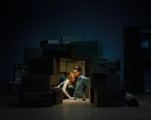 Duo ställer ut om ensamhet i tvåsamhet