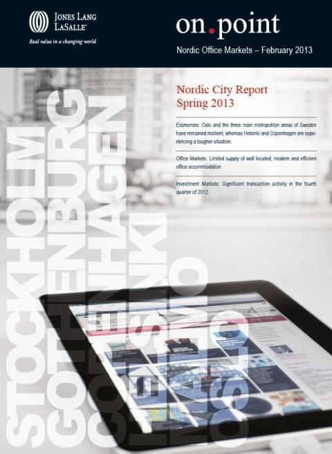 Nordic City Report Spring 2013
