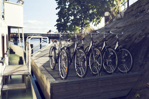 Bikes for the hotel guests