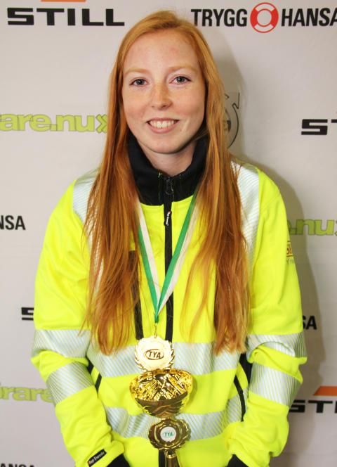 Josefin Axfjord från Mimers Hus Gymnasium i Kungälv vann kvaltävling till Yrkes-SM i Uddevalla