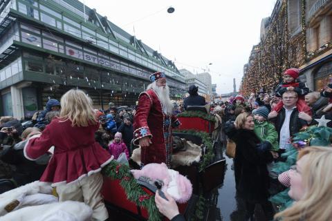 Skyltsöndag den 21 november NK Stockholm.