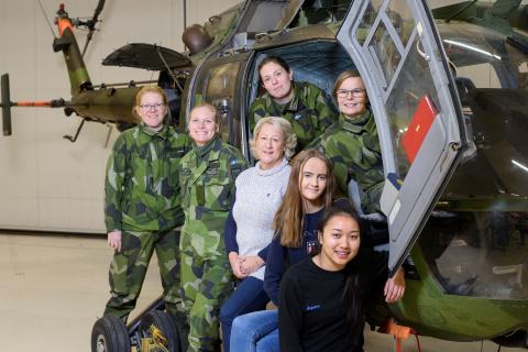 Pressinbjudan - Tjejdag på Flygteknik i Ronneby/Kallinge