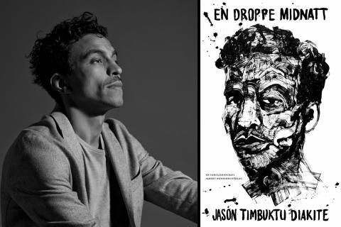Jason Diakité till Författarscenen på Stadsbiblioteket