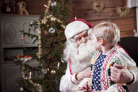 Santa's house in Rovaniemi, Lapland