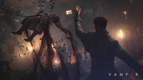Vampyr - Combat Screenshot