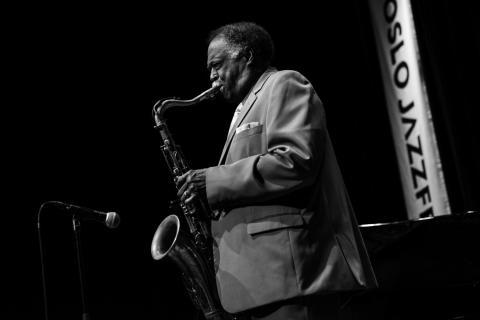 Houston Person med Jan Lundgren Quartet, Oslo Jazzfestival