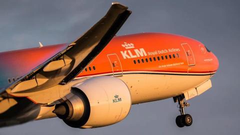 KLMs Orange Pride
