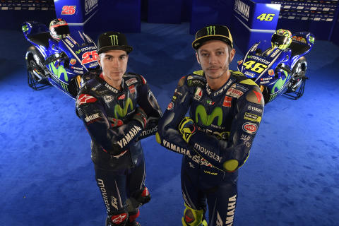 MotoGP世界選手権 Movistar Yamaha MotoGPがマドリードでMotoGP2017シーズンの体制発表