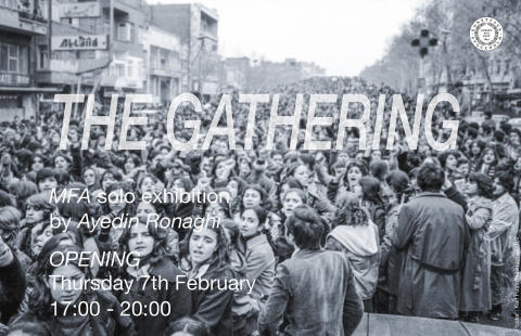 THE GATHERING – MFA exhibition by Ayedin Ronaghi