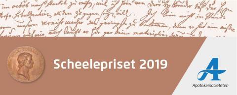 Kvalificerat uppdrag för priskommittén som utser 2019 års Scheele-pristagare