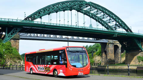 Spreading festive cheer in Sunderland with free Sunday morning bus travel