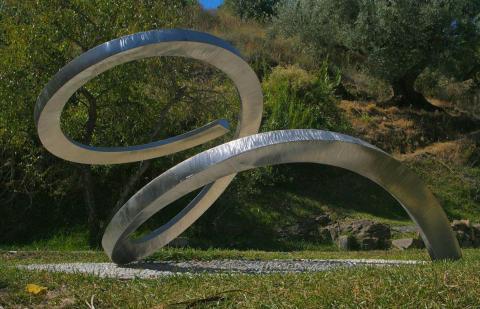 Svalövs skulpturpark börjar ta form