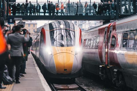 Virgin Trains' Azuma inspires new trend for hipster trainspotter