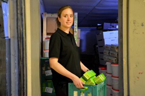 FødevareBankens frivillige på overarbejde efter Smukfest