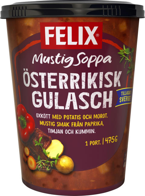 Felix Veggie Österrikisk Gulasch
