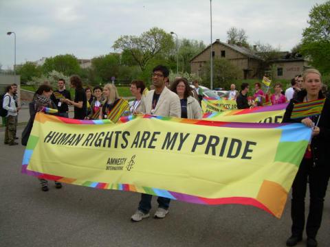 Vilnius måste tillåta prideparaden