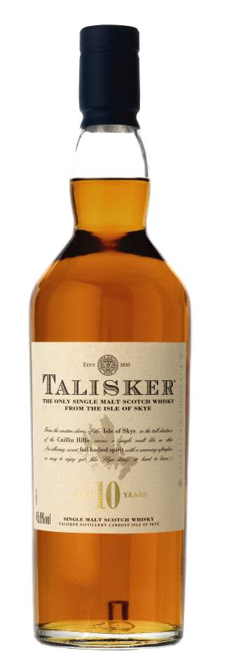 TALISKER® 10 YEAR OLD ISLAND SINGLE MALT, 70 cl 45,8 Vol %