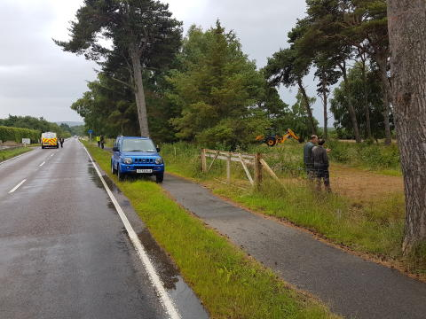 Findhorn road Enforcement 2