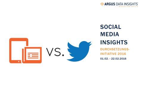 Case Study: Social Media Insights - Durchsetzungsinitiative 2016
