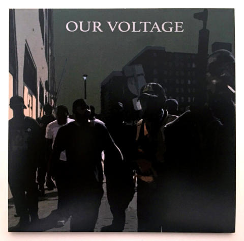 """Chicago's Girlsville Records release """"Our Voltage"""" - V/A benefit compilation featuring  Mr. Airplane Man, The Prissteens, and Damaged Bug"""