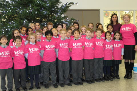 Devonshire House Preparatory School Raise £670 after bringing festive cheer to The Royal London
