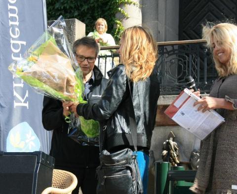 Göran Hägglund mottog utmärkelsen Barnens Parti