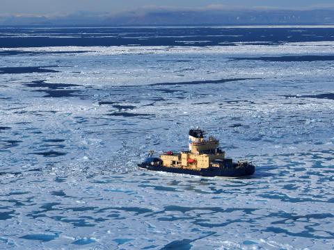 Polarforskningsexpeditionen Arctic Ocean 2016 inleds och får ministerbesök