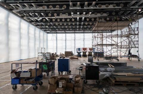 Lyshallen i det nye Nasjonalmuseet