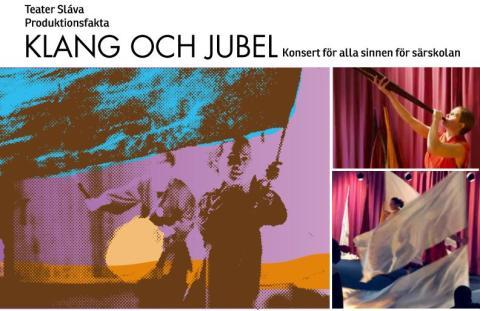 Välkomna på interaktiv konsert med Teater Sláva!
