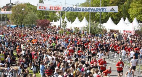 GöteborgsVarvet fulltecknat med 58000 löpare